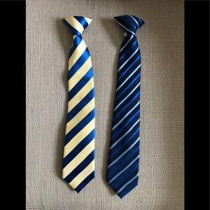 Set of 2 boys ties